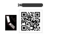 アイズニューヨーク御経塚24時間予約用QRコード