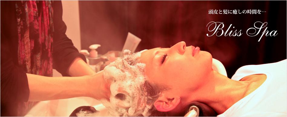 頭皮と髪に癒しの時間を・・・ Bliss Spa