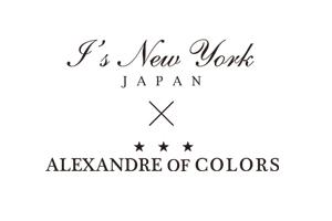 I's NewYork JAPAN x ALEXANDRE OF COLORS